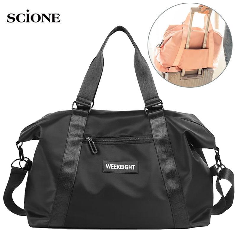 Dry Wet Travel Bag Fitness Bags Training Tas For Women Sports Gymtas Sac De Sport Traveling Men Sporttas 2020 Yoga Bags  XA791A