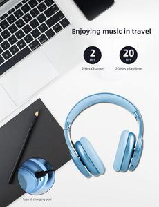 Image 5 - היברידי פעיל רעש ביטול Bluetooth V5.0 אוזניות עם מיקרופון Earpads SBC APT X 40mm נהג אלחוטי Wired אוזניות