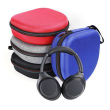 цена Portable Hard EVA Carrying Bag Storage Case Cover for Sony WH1000XM3 Headphones Headset Accessories