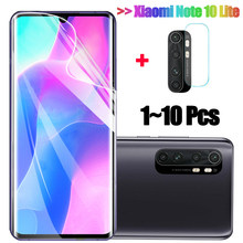 1~10Pcs, hydrogel film xiaomi mi note10 lite นุ่มกระจกนิรภัย note 10 ป้องกันหน้าจอ mi note 10lite soft glass mi note 10pro xiaomi 10 screen protector mi10 pro xiomi note 10 pro screen protector mi 10 ...(China)