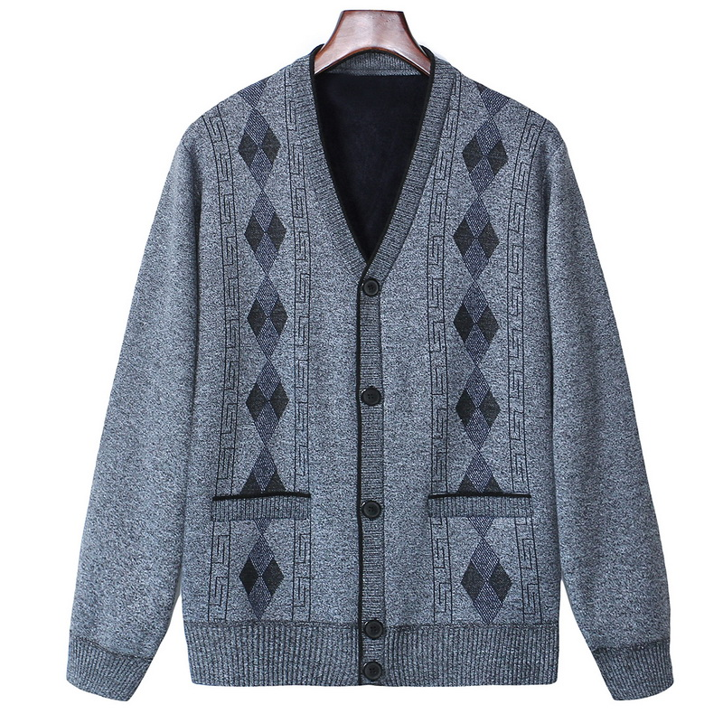 Autumn Cardigan Men Sweaters Coats Winter Thick Warm Knitted Sweater Jackets Coats Male Clothing Casual Knitwear Sweater Jumper
