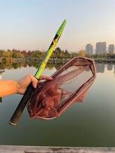 Josby 4 м 3 21 рыболовная посадка ручные складные сетки карбоновая