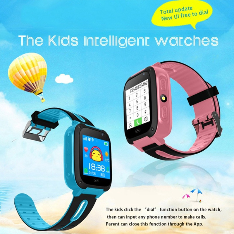 Kids Waterproof Smart Watch Anti-lost Safe GPS Positioning Call Smart Band LXH enlarge