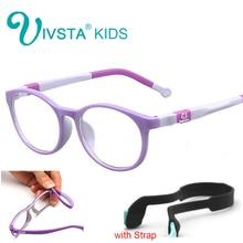 IVSTA 9813 TR90 Plastic titanium kids frame eyeglasses Tr90 children glasses kids optical frames No Screw Safe Unbreaken myopia