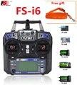 FS Flysky I6 FS-i6 2,4G 6ch Sender RC Controller mit iA6B X6B A8S IA6 iA10B Empfänger für Flugzeug Heli UAV boot