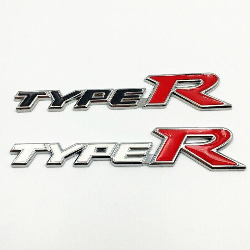 1Pcs Car Alloy Metal Luxury TYPER Auto Body Rear Trunk Lid Sticker Badge Emblems