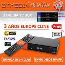 1080P Gtmedia V8 Nova V8 Honor Satelliet Tv Ontvanger H.265 Gt Media V8x Decoder Ingebouwde Wifi Fhd DVB-S2 Freesat V9 Super(China)