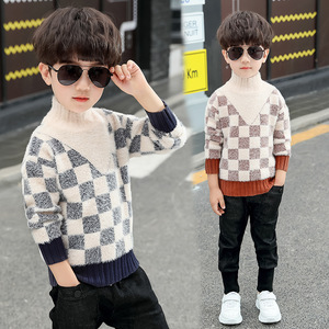 Image 3 - 2020 Fashion Boys Sweater Spring Winter Infant Boy Outerwear Cotton Sweater Kids Sweater Children Knitwear Sweater Brand Tops