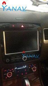 Android Автомобильный GPS навигатор carplay для VW-Volkswagen-TOUAREG 2011 Мультимедиа Бесплатная карта Автомобильный стерео головное устройство проигрывател...