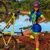 Macacão de verão feminino, roupa de ciclismo, equipe ciclopp, uniforme de bicicleta, triathlon, terno para corrida, kit de roupa de praia 20