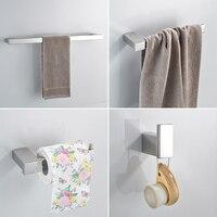Paper Holders Euro style Bathroom Accessories Stainless Steel Bath Hardware Set Bathroom fitting Towel ring Towel ring DG9000
