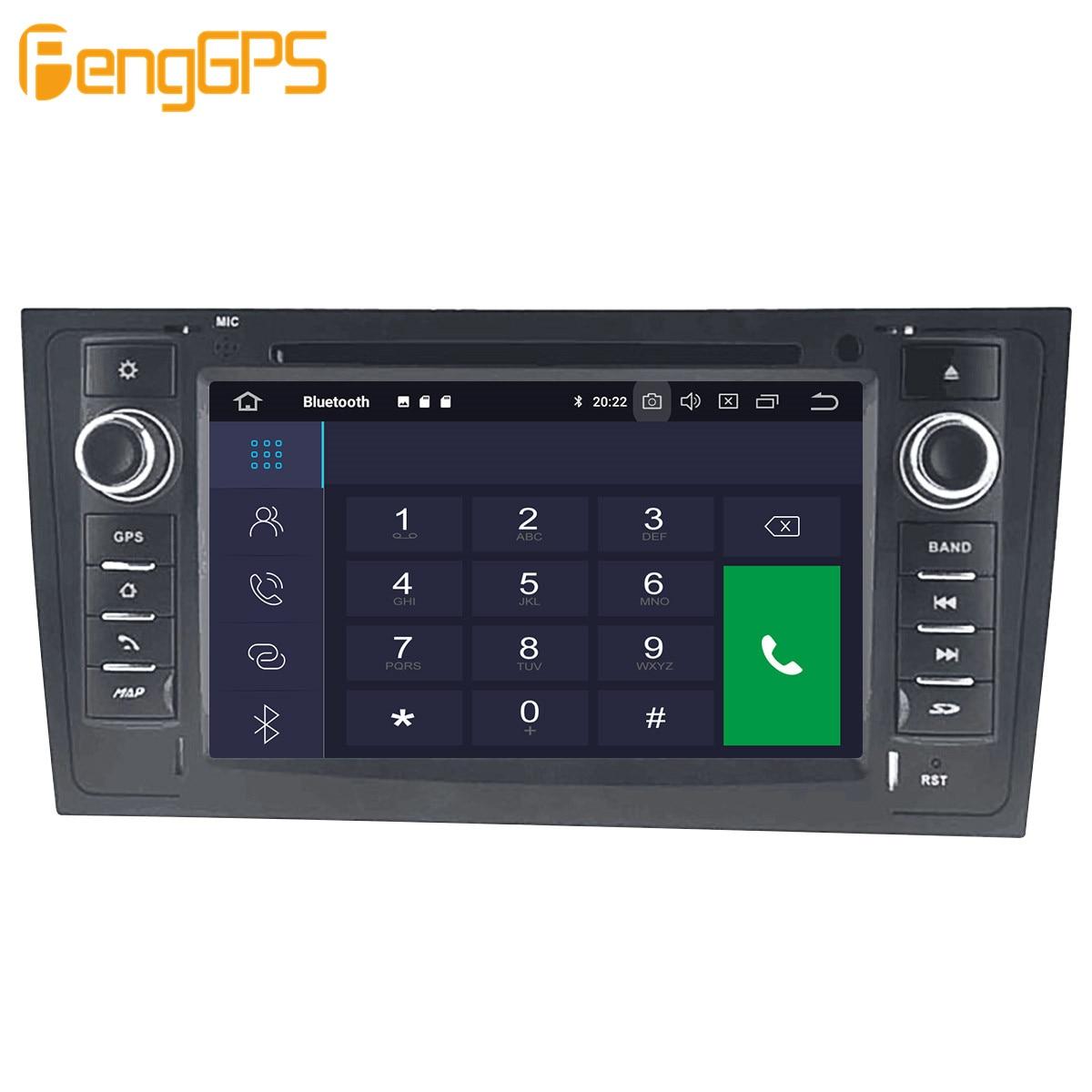 Автомобильный мультимедийный DVD-плеер на Android, GPS-радио для AUDI A6 4B C5 1997- 2004 2005, GPS-навигация, стерео видео головное устройство DSP, стерео-3