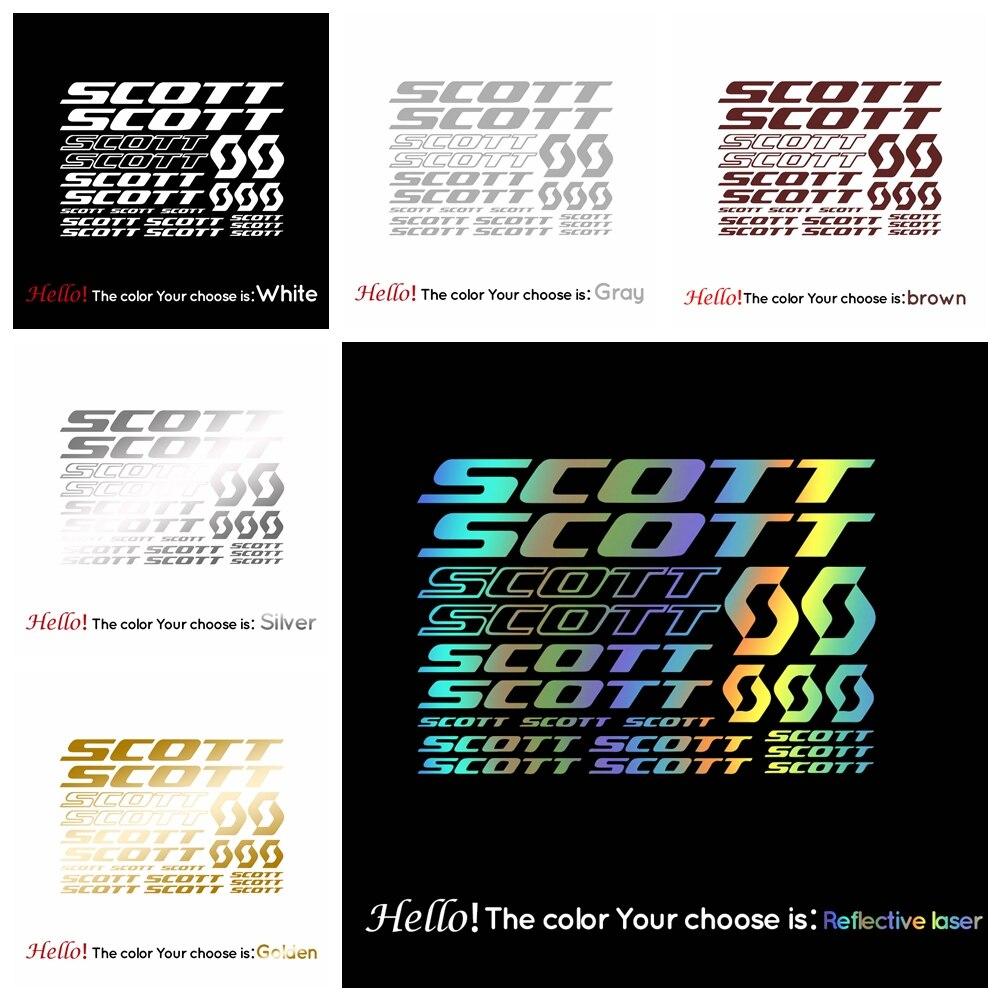 Эксклюзивные прозрачные транспортные мембраны, неразрывные наклейки для рамок велосипеда Скотта, декоративные наклейки «сделай сам» для е...