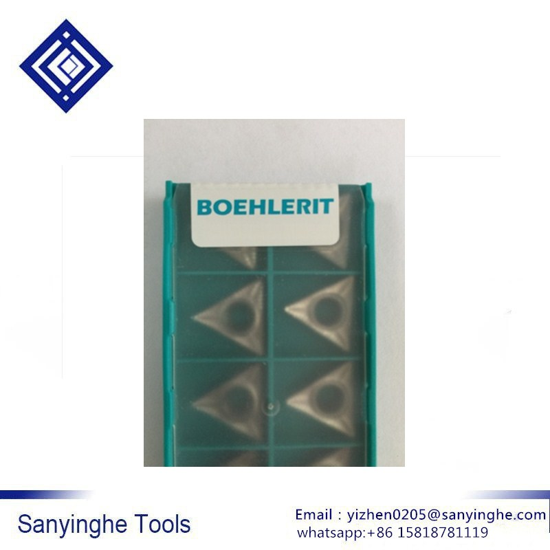 TCGT16T304-BAL LW610 BOEHLERIT Cnc Carbide Turning Inserts Cnc Blade Cutting Tool For Aluminum Parts (10pcs/lots)