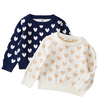 Jesień dzieci dziecko swetry swetry miłość chłopcy swetry zimowe dziewczyny swetry dzianiny dzieci swetry Casual chłopcy odzież 1-6 lat tanie i dobre opinie campure COTTON Na co dzień W stylu rysunkowym REGULAR Z dekoltem turtleneck Unisex 19085 Pełne 3d druku Dobrze pasuje do rozmiaru wybierz swój normalny rozmiar
