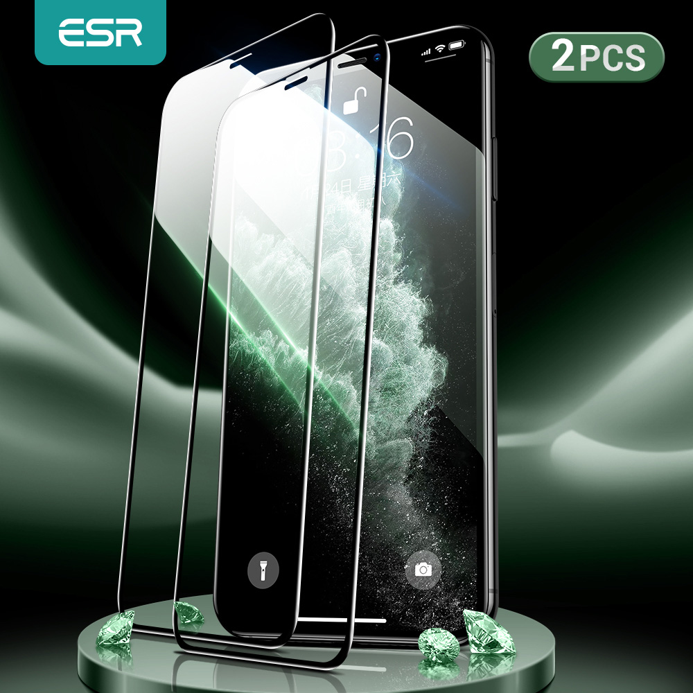 ESR for iPhone se 2020 Screen Protector Tempered Glass for iPhone 12 mini 12pro Max 11 Pro X XR XS M