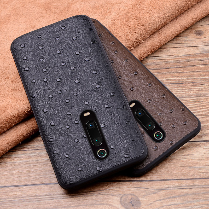 Luxury Genuine Leather Case For Xiaomi Redmi K20 Pro Crocodile Pattern 360 Full Protect Back Cases