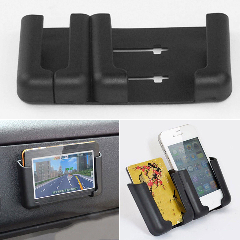 Mount Phone Holder Cradle Stand Black Adjustable Car CD Slot GPS 7*9*4.5cm Mobile Smart-Cell
