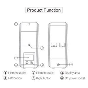 Image 4 - SUNLU 3D Filament Dryer Keep Filament Dry Storage Box 3D Printer Good Parneter FilaDryer S1