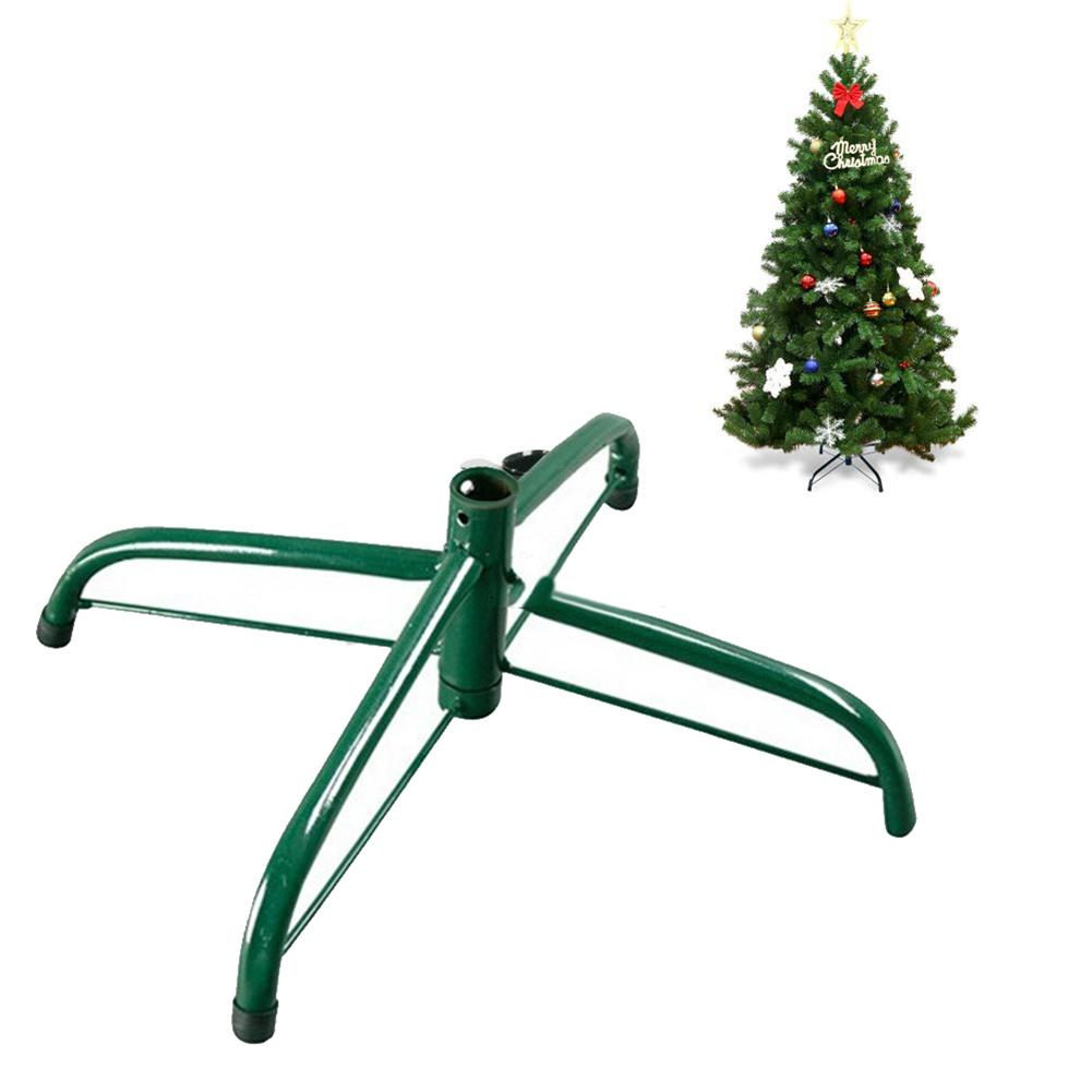 30-50cm Durable Iron Artificial Christmas Tree Stand Base Metal Pole Holder Party Christmas Decor Home Xmas Party Supplies