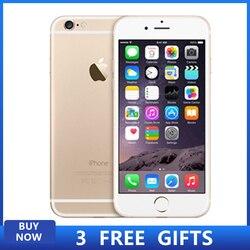 Używany oryginalny Apple iPhone 6plus Smartphone 1GB RAM 16/64/128GB ROM Fingerprint LTE 1.3MP telefon komórkowy