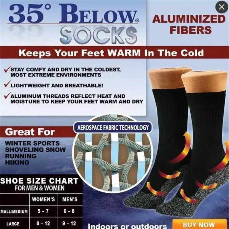 Açık sıcak termal kayak çorap Unisex erkekler kadınlar uzun kar yürüyüş batonu dikişsiz spor havlu çorap botları zemin uyku tulumu