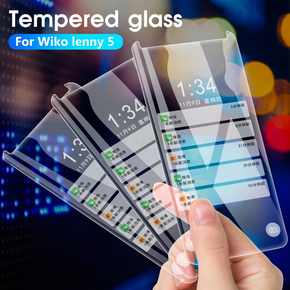 Tempered-Glass Screen-Protector 2-Y50-Cover-Case Wiko Robby Y60 Y80 Lenny-5 3-Lite 4-Plus-View title=
