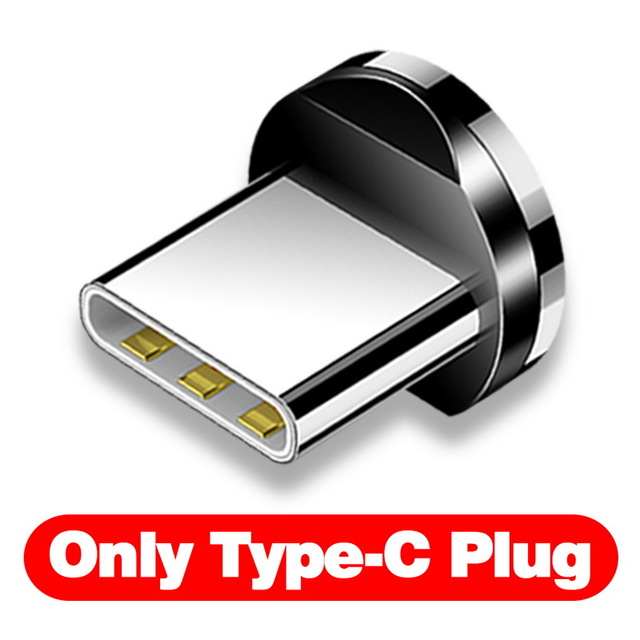 INIU 2 м Магнитный кабель type C Micro USB быстрая зарядка для iPhone 11 Pro huawei Android мобильный телефон зарядка магнит зарядное устройство Шнур - Цвет: Only Plug For Type-C