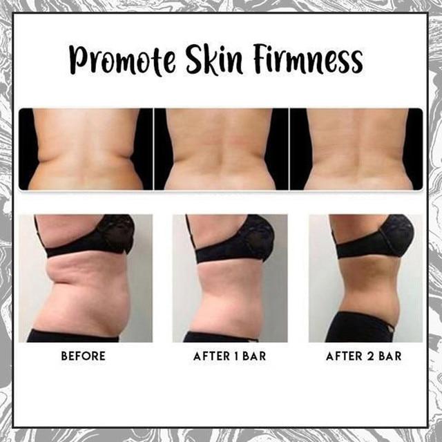 Volcanic Cla Coffee Slimming Soap Bar Skin Whitening Body Clear Anti Prevents Skin Sagging 100% Safe Dropshipping ZJXM2 1/2 Pcs 5