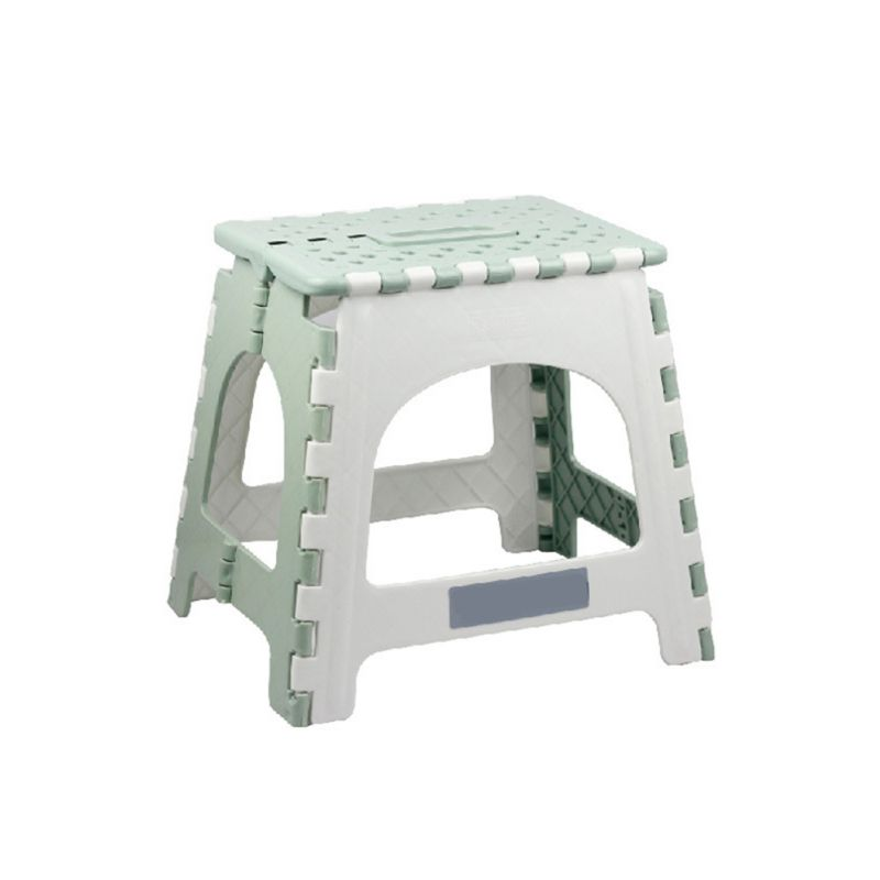 US $12.24 36% OFF|Portable Chair Seat Non slip Folding Plastic Step Stool  For Home Bathroom Kitchen Garden Camping-in Stools & Ottomans from  Furniture ...