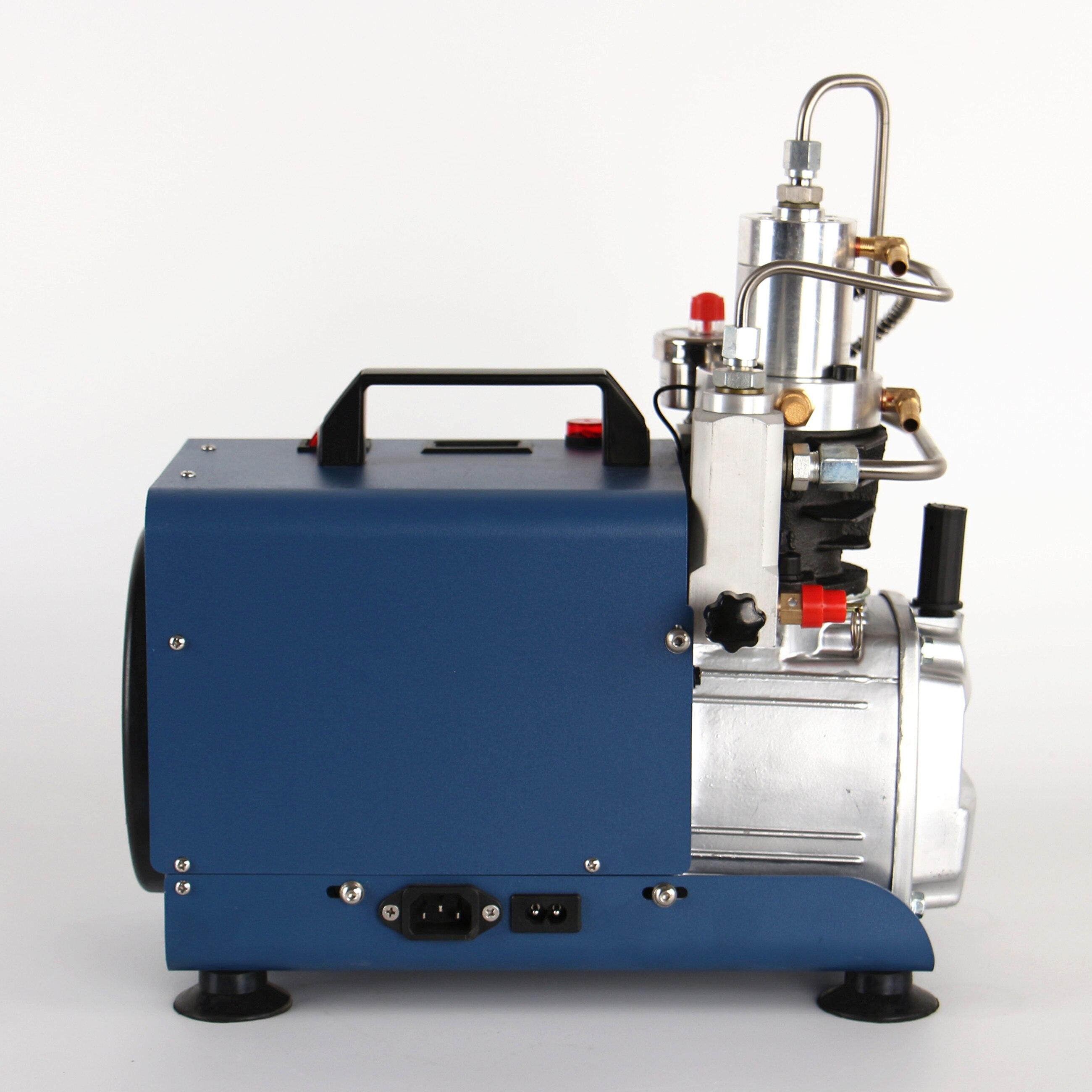 300bar 30mpa 4500psi compressor de ar elétrico de alta pressão da bomba ar para pneumático carabina scuba rifle pcp inflator 220v 110v - 6