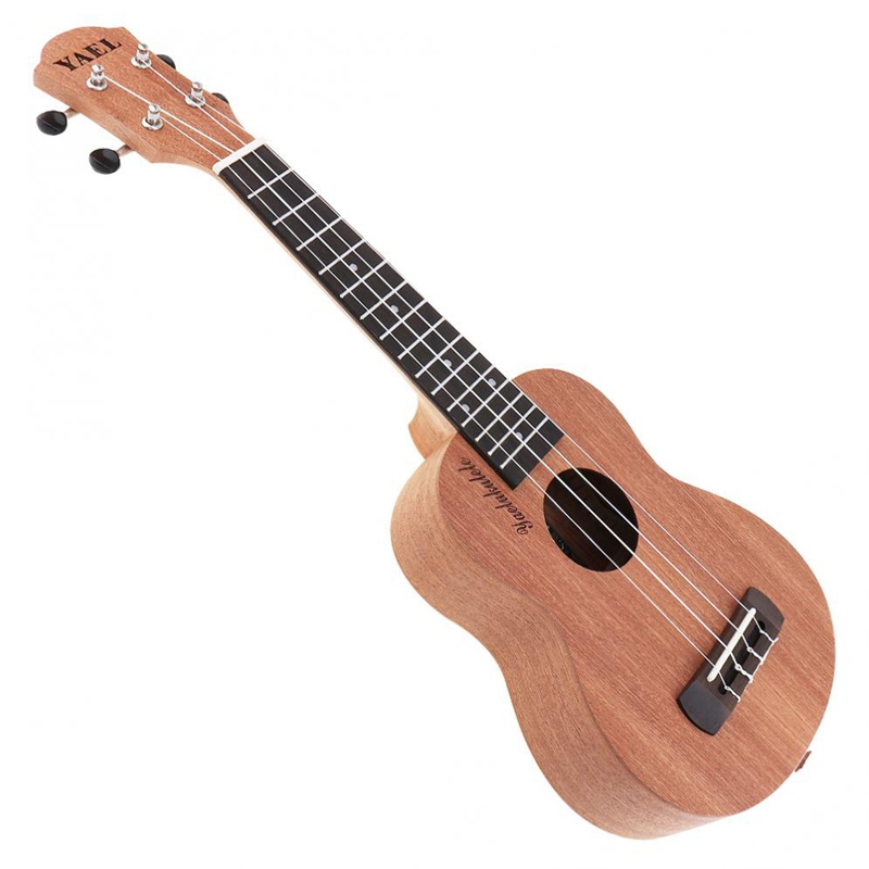 21 Inch Ukulele Acoustic Guitar Sapele Wood Ukulele Hawaii 4 String Guitar