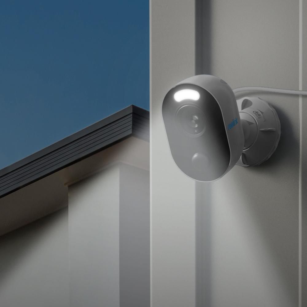 Reolink Spotlight Wifi-Camera Night-Vision Outdoor-Color Motion-Detection Weatherproof