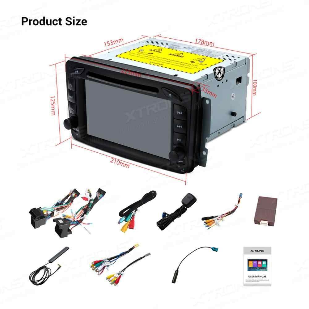 XTRONS 7 ''Android 9.0 PX5 ĐẦU DVD Ô Tô Đài Phát Thanh GPS OBD TPMS cho Xe Mercedes Benz MỘT W168 W203 W209 w463 Viano VITO W639 2000 2001