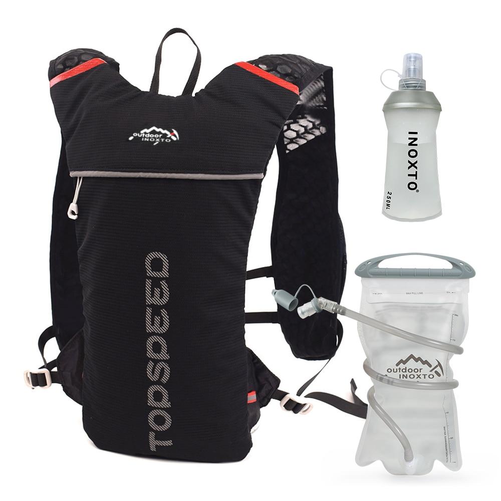 Trail Running-5L ультралегкий рюкзак, гидратационный жилет для бега, марафон, велосипед, бутылка для воды 250 мл 500 мл