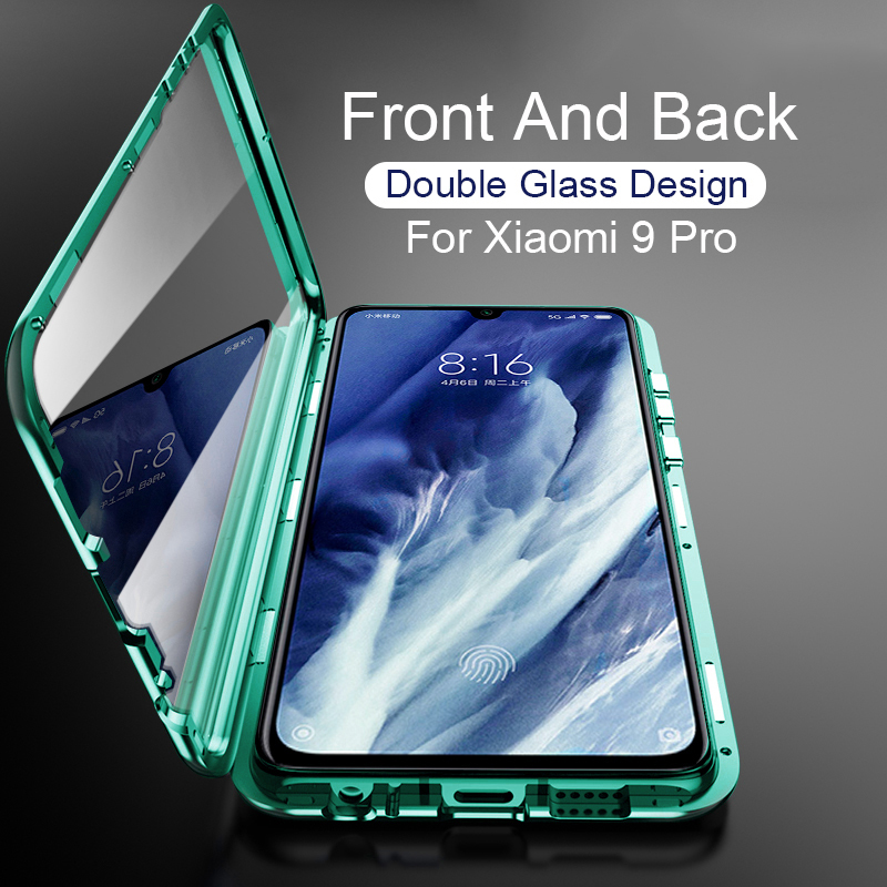 Magnetic Case For Xiaomi mi 9 Se Pro 360 full Glass Filp Cover For xiaomi 9t pro on xiomi 9se 9pro Double Glass Size 6.39' Coque