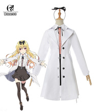 ROLECOS Anime From Commonplace to Worlds Strongest Cosplay Costume Yue Women Girl Full Set