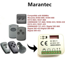 Receptor 433-868 mhz da porta da garagem da multi frequência do receptor 300 mhz do controle remoto 900mhz de hormann berner marantec dos pces 1