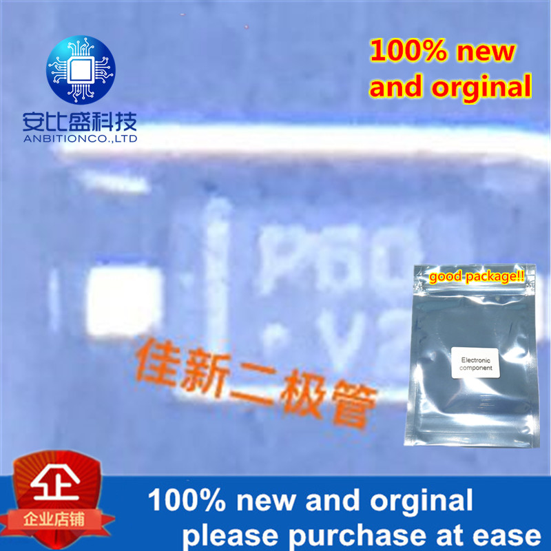 100pcs 100% New And Orginal RB751V-40 200MA40V Low-pressure Schottky Diode SOD323 Silk-screen P60 In Stock