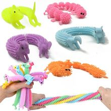 3шт червь лапши растянуть строку ТПР веревка анти стресс игрушки строке непоседа аутизм