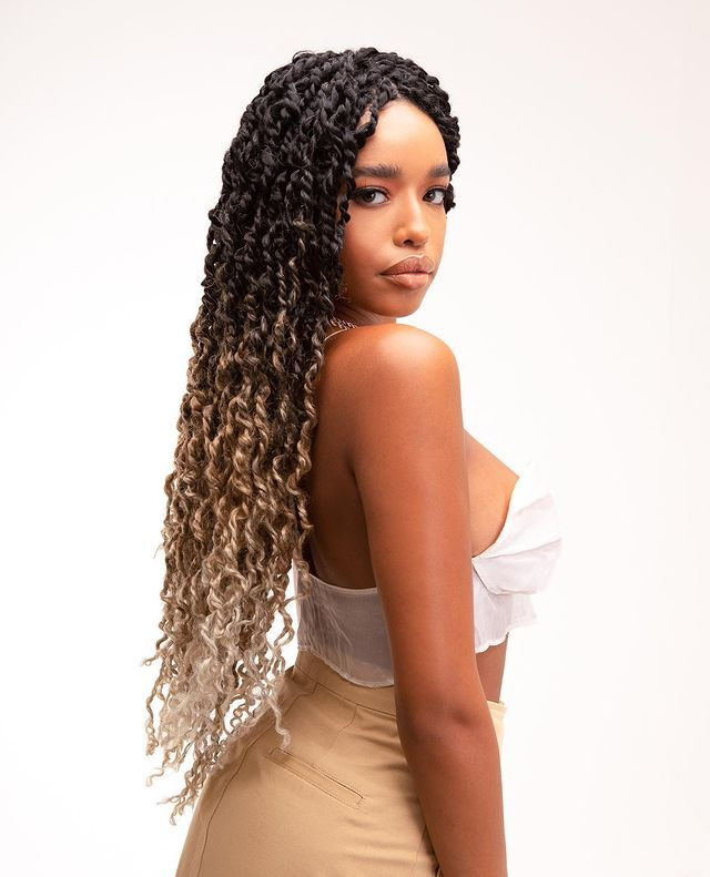 Synthetic Passion Twist Crochet Hair Pre-Looped