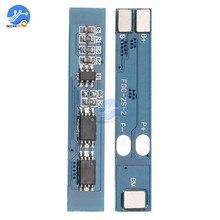 2S 2 cellules 3A Li ion Lithium batterie 7.4 8.4V 18650 chargeur panneau de Protection BMS PCM pour Li ion Lipo batterie bloc de cellules
