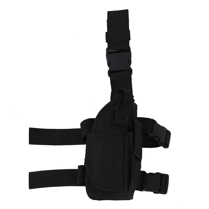 Army Pistol/Gun Drop Leg Thigh Holster   Black|Holsters| |  - title=