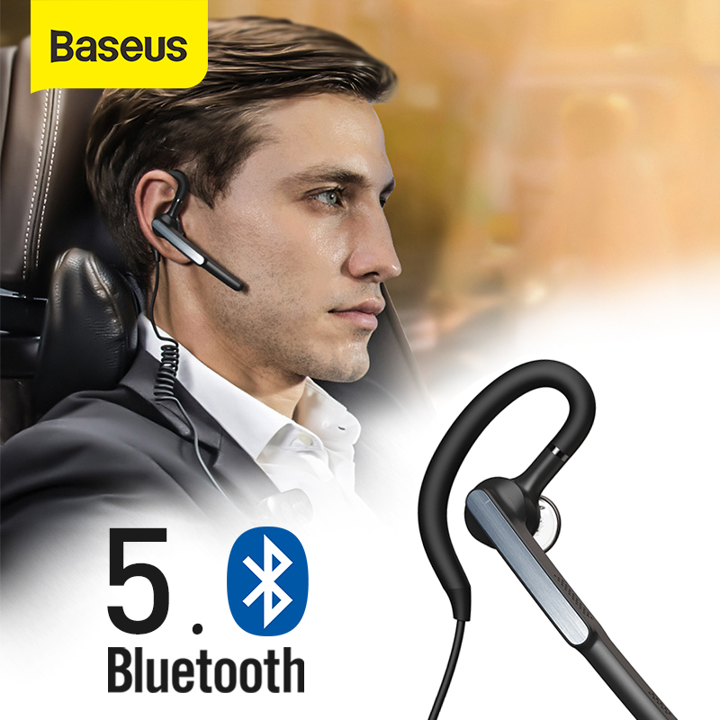 Baseus A10 <font><b>Bluetooth</b></font> <font><b>Headset</b></font> APTX Wireless <font><b>Bluetooth</b></font> Kopfhörer AI Smart Freisprecheinrichtung Business <font><b>Headset</b></font> mit HD Mic IP55 Wasserdicht image