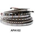 Умная светодиодная Пиксельная лента DC5V APA102, данные и часы, отдельно; 1 м/3 м/5 м; 30/60/144 светодиодов/пикселей/м; IP30/IP65/IP67
