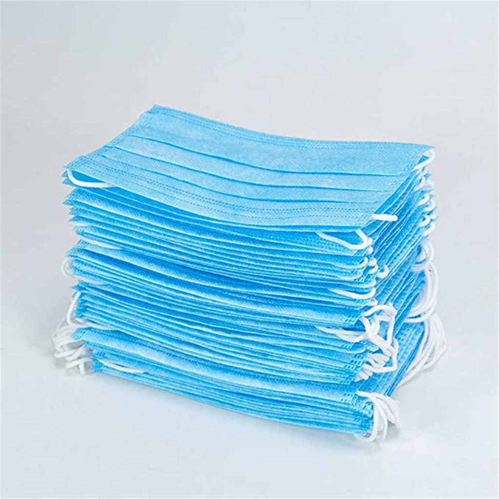 #H30 10/20/30/50 pcs 3-layer Breathable mask Face Mouth Masks Non Woven Disposable Masks Earloops Masks