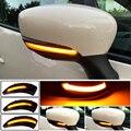 Для Renault Clio IV MK4 BH RS Grandtour KH 2012 -2016 Автомобильный светодиодный индикатор с динамическим миганием повторитель зеркало указатель поворота свети...