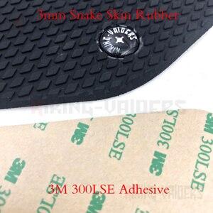 Image 5 - Snake Skin Motorcycle Tank Traction Pad Anti Slip Sticker Gas Knee Grip Protector For Triumph Daytona 675 Street Triple 765
