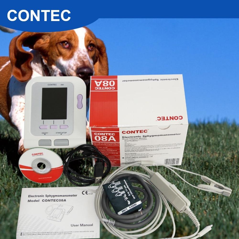 CONTEC08A Veterinary Digital BPM With Free PC Softwear And VET SPO2 Probe