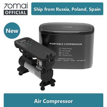 Original 70mai Air Compressor 12V 70 MAI protable Electric Car Air Pump Mini compressor Tire Inflator Auto Tyre Pumb